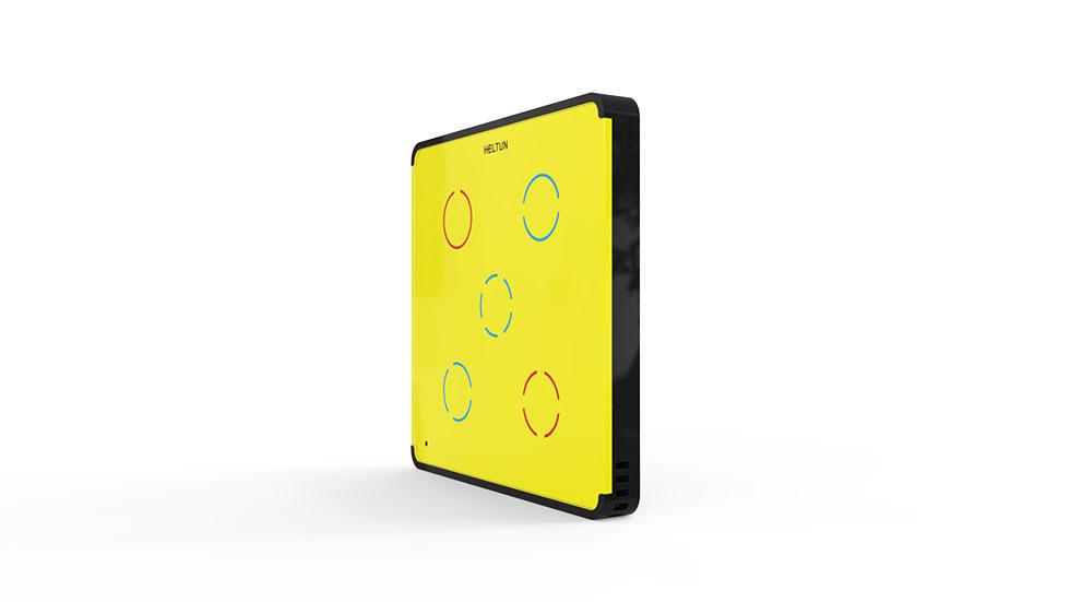 Switcher Yellow Glass Black Case