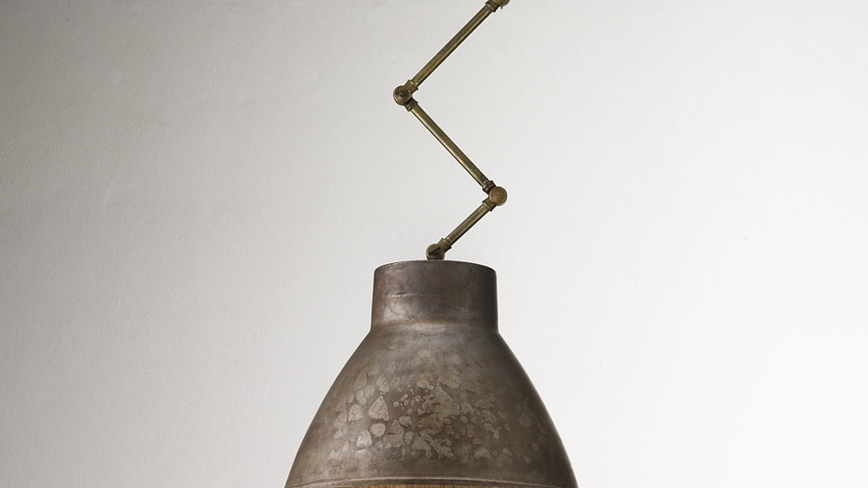 Loft Medium Pendant Brass/Iron