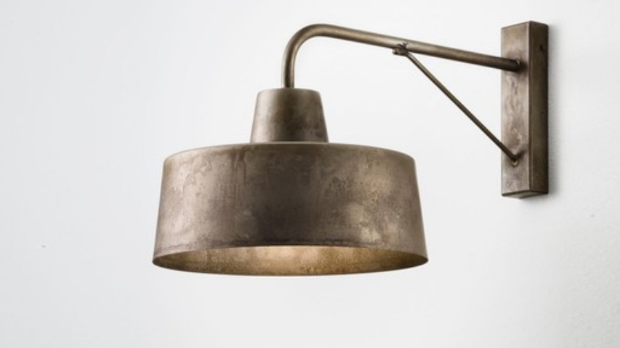 Officina Wall Light Iron