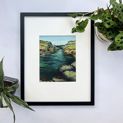 Snake River Canyon.  Archival Fine Art Print.