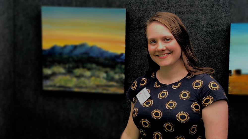 Art and Roses, Boise, Idaho, Monica D'Angelo,Artist, Art Festival