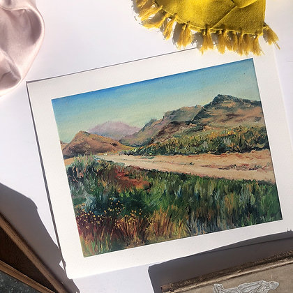 Unknowable Journeys: The Newness of Morning. Archival Fine Art Print (2 sizes)