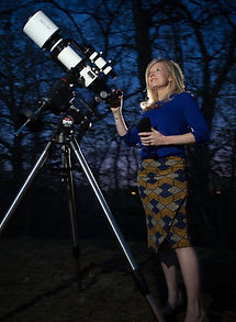 kimberly arcand telescope photo