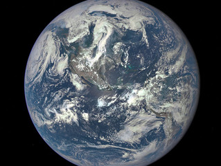 Earth Joins the Selfie Brigade