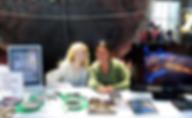 kim arcand and megan watzke book signing