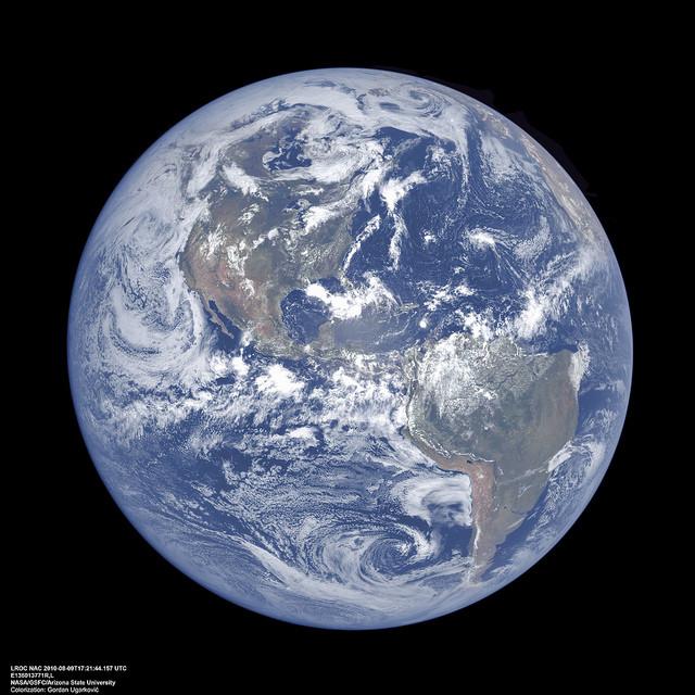 LRO Earth