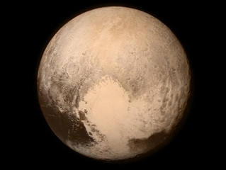 Lighting Up Pluto
