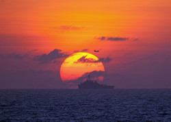 Lensed Sun