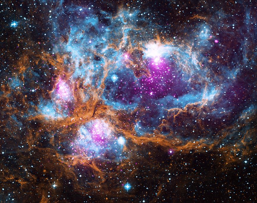 Star cluster NGC 6357.