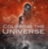 coloring the universe book cover
