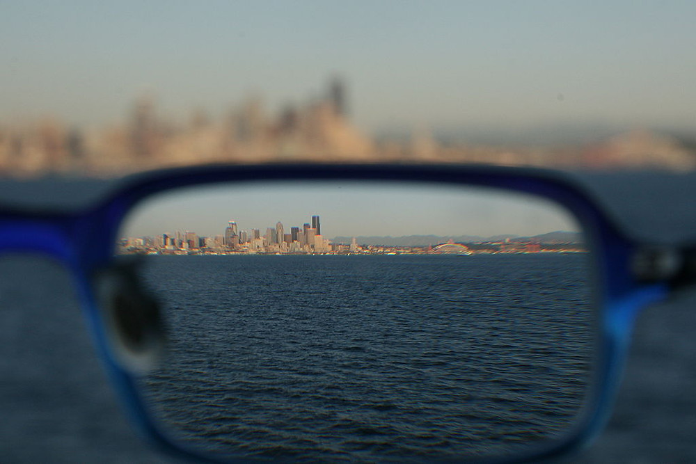 Seattle through eyeglasses