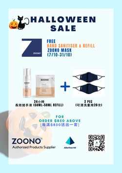 Spend $850 for zoono