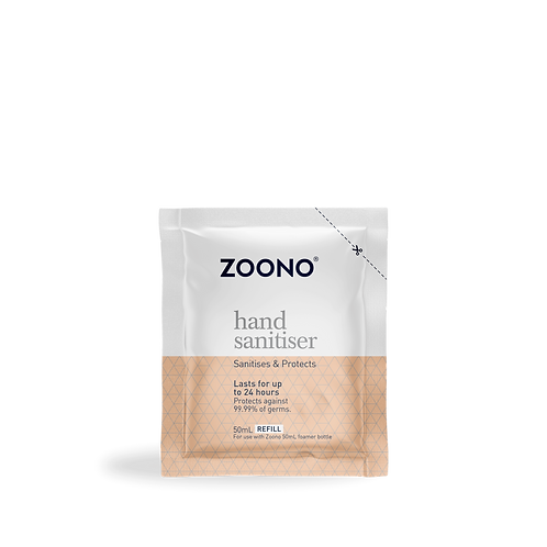 ZOONO 24小時長效殺菌搓手液 (50ml補充裝) GermFree 24 Hand Sanitizer (50ml Refill Pack)
