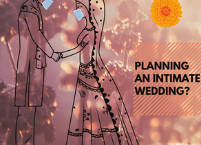 Want to plan a small and intimate wedding in today's time?