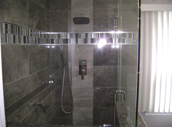 Custom Glass Enclosed Shower
