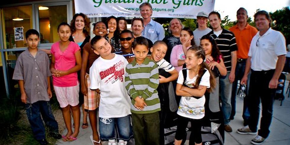 Guitars Not Guns Benefit Concer - $10 donation