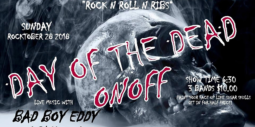 Day of the Dead with Ribs - $10 Cover