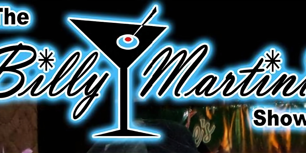 The Billy Martini Show - No Cover