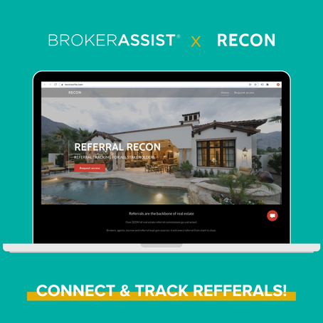 BrokerAssist Partners with RECON