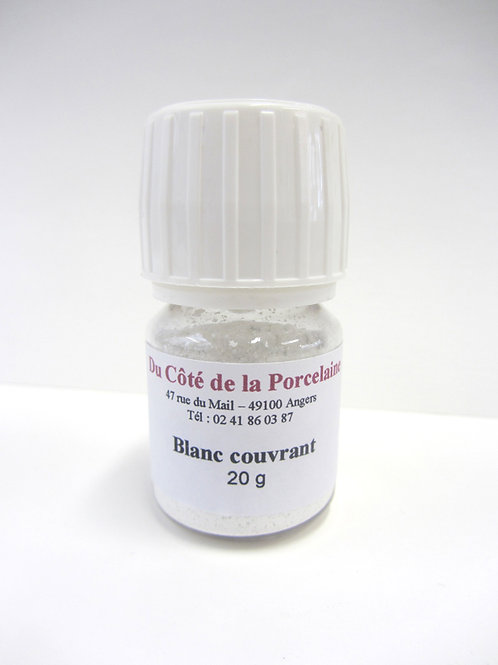 Blanc couvrant 20g