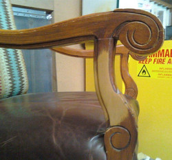 Chair arm before
