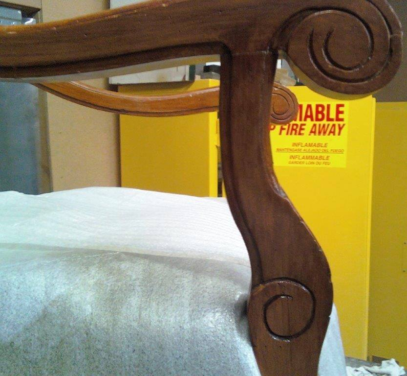 Chair arm after