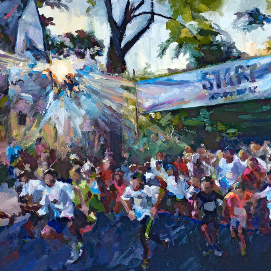 Start at Noyes   oil on canvas. 18x24