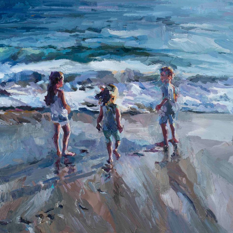 Laguna Summer   oil on canvas. 18x24