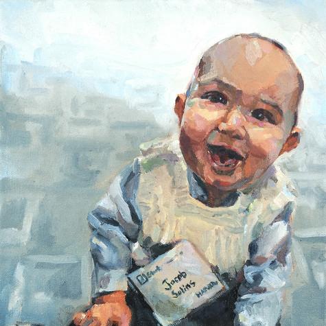 Jacob   oil on canvas. 9x12