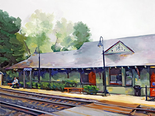 Kensington Station Giclee Print
