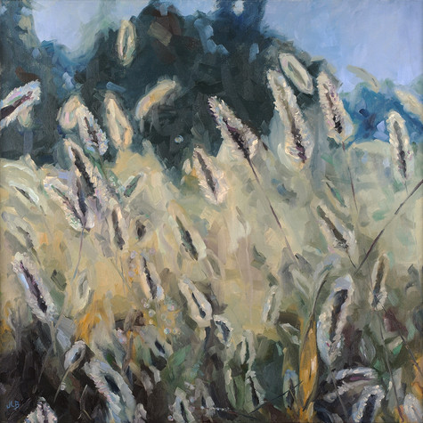 Wheat   oil on canvas. 24x24