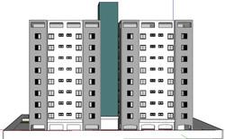 Fachada Posterior - projeto