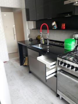 Cozinha em estilo industrial