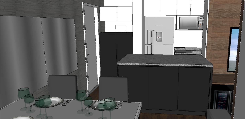 Living do apartamento