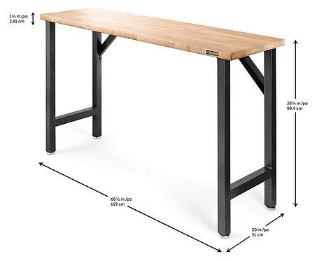168cm Hardwood Workbench