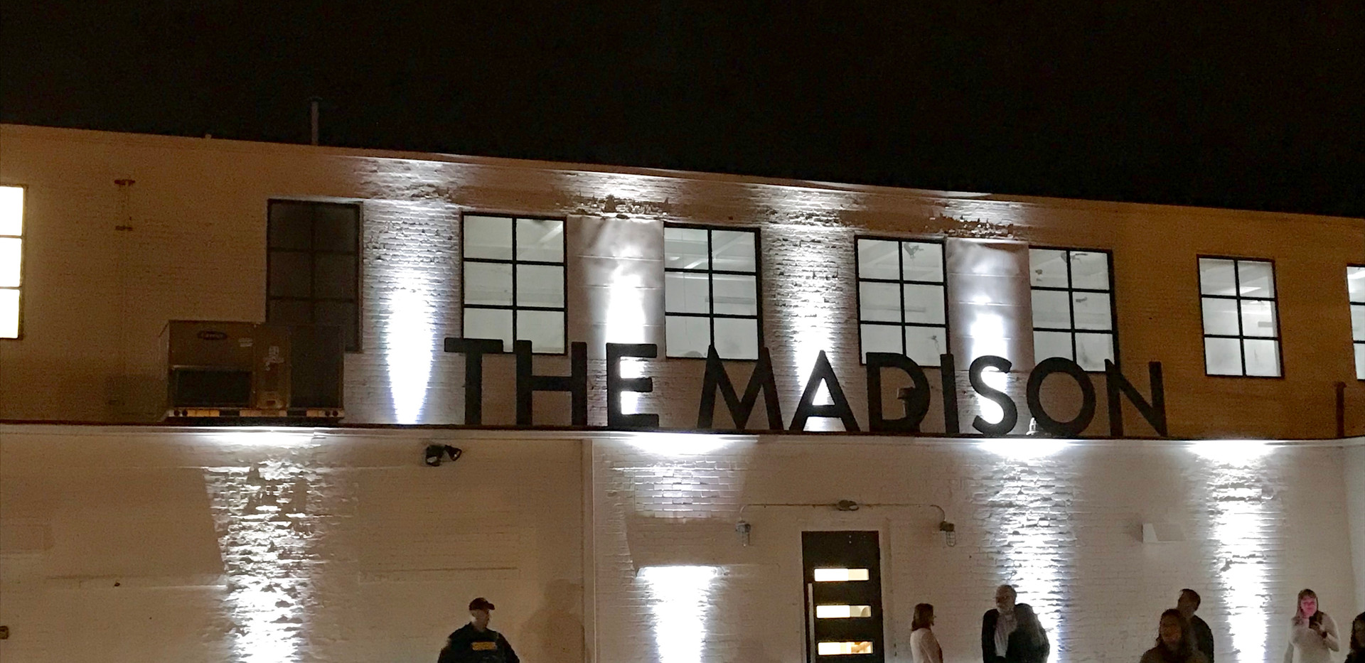 Uplighting at The Madison
