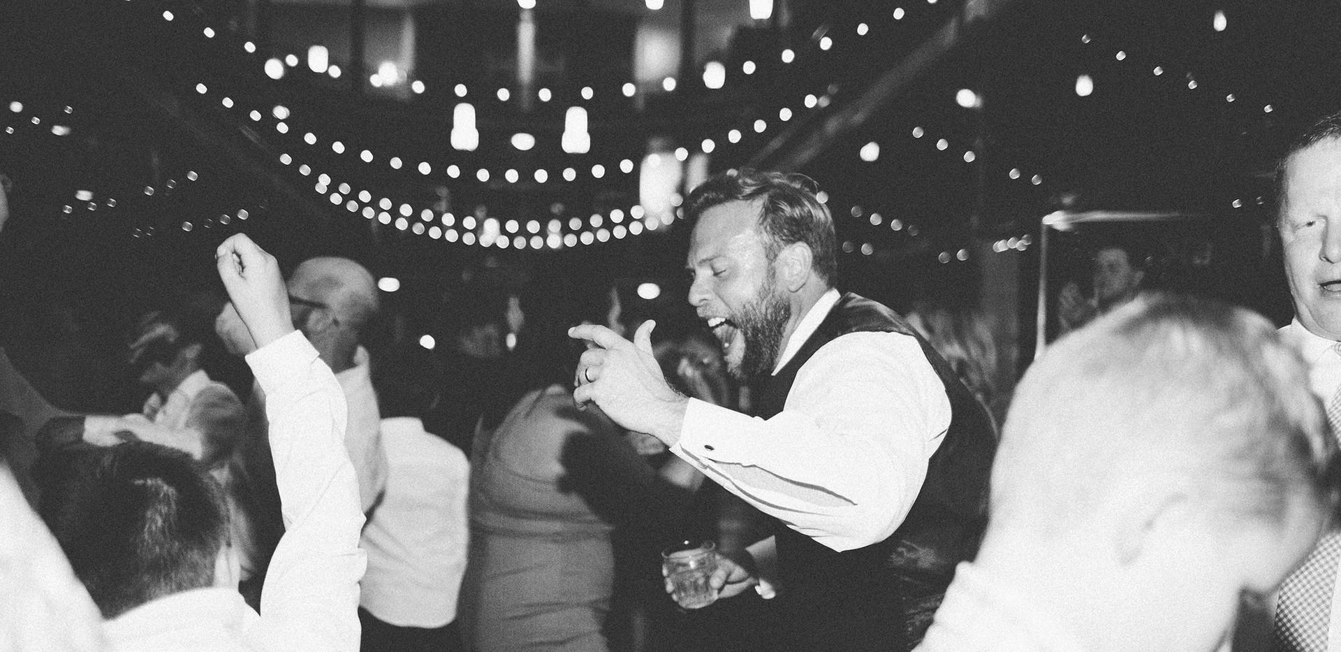 Mark & Ellen's Wedding at the Arcade with DJ Marcus Alan Ward.