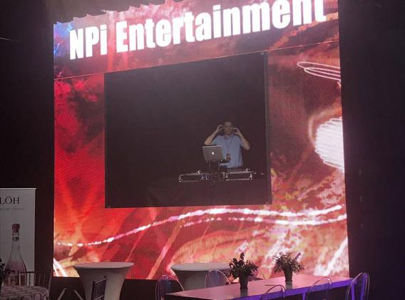 LED DJ Frame
