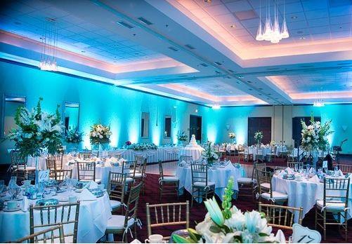 Bertram Inn Wedding Lighting