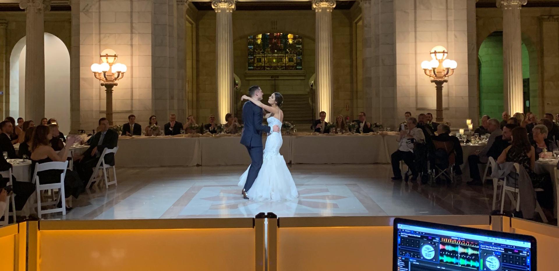 Rick & Lena's Old Courthouse Wedding