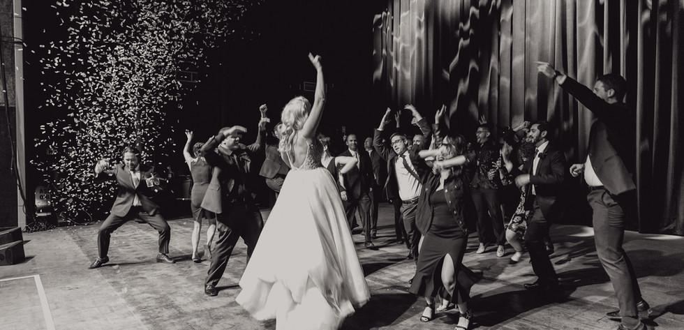 Megan & Ted's Agora Wedding