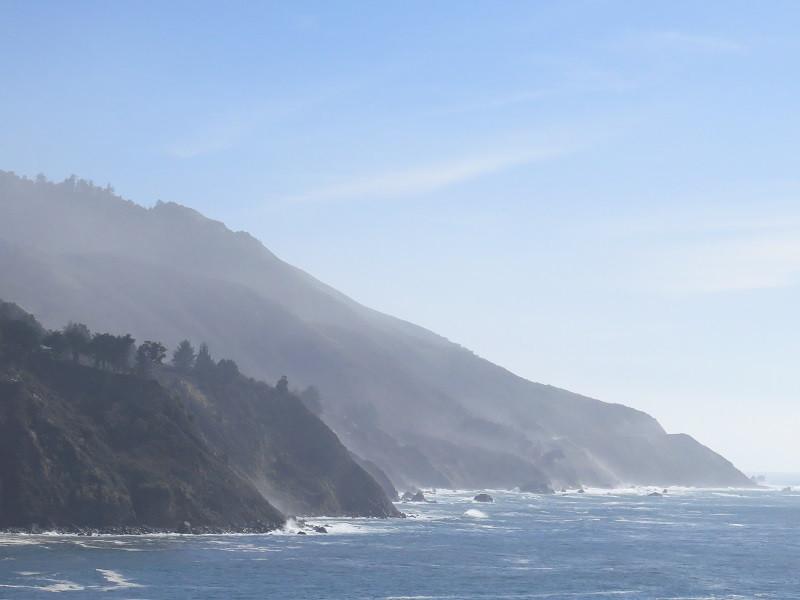 Big Sur coastline.