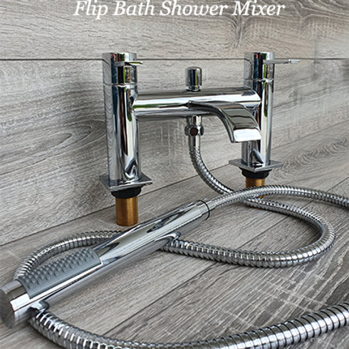 Flip Bath Shower Mixer