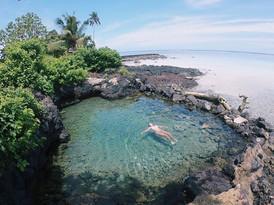 Nonu Samoa - beach side pool