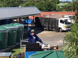 Nonu Samoa emptying tanks