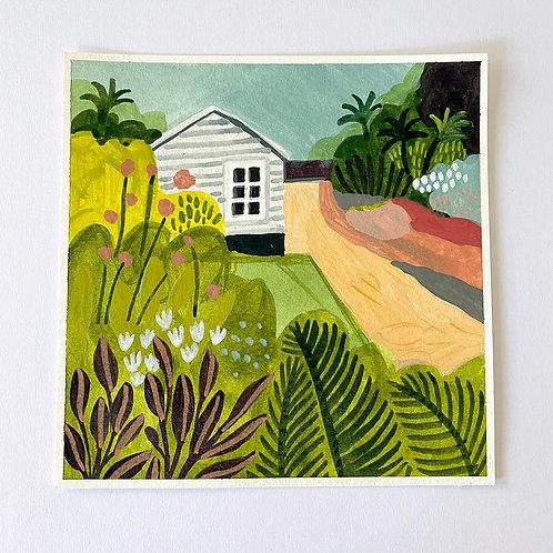 """""""Garden Hideaway"""" - Original Painting"""