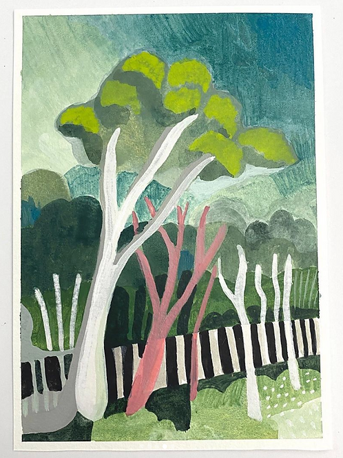 """White Gum Tree"" - Original Painting"