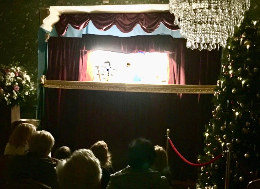 Puppentheater in der Villa