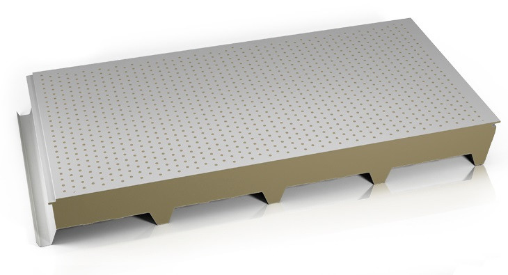 Panel Techo fono acustico lana mineral.j