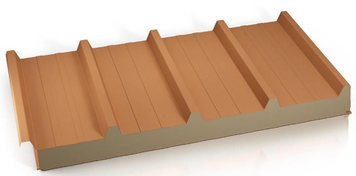 Panel techo lana mineral cortafuego